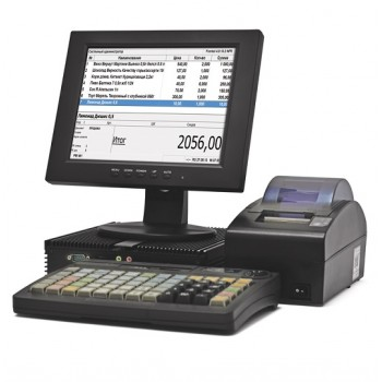 POS-система АТОЛ Минимаркет 54 Pro [АТОЛ 55Ф, Windows, Frontol 5 Торговля (54-ФЗ, ЕГАИС), С041 SSD64, монитор, ДП, КВ, MSR123]